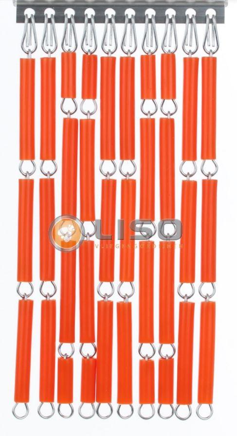 Liso ® Vliegengordijnen | Oranje