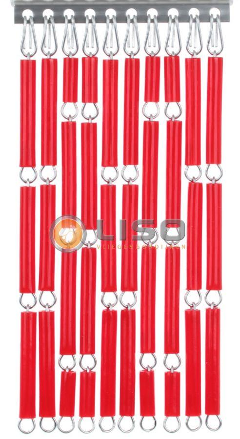 Liso ® Vliegengordijnen | Rood