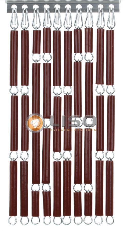 Liso ® Vliegengordijnen | Bruin