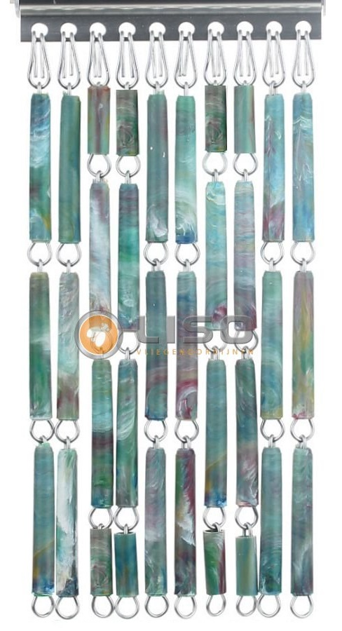 Liso ® Vliegengordijnen | Tropical Gevlamd