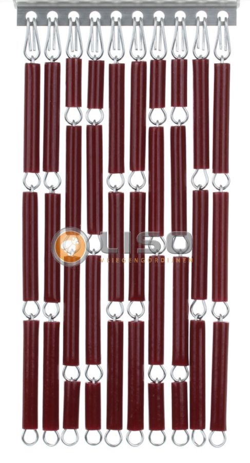 Liso ® Vliegengordijnen | Bordeaux Rood