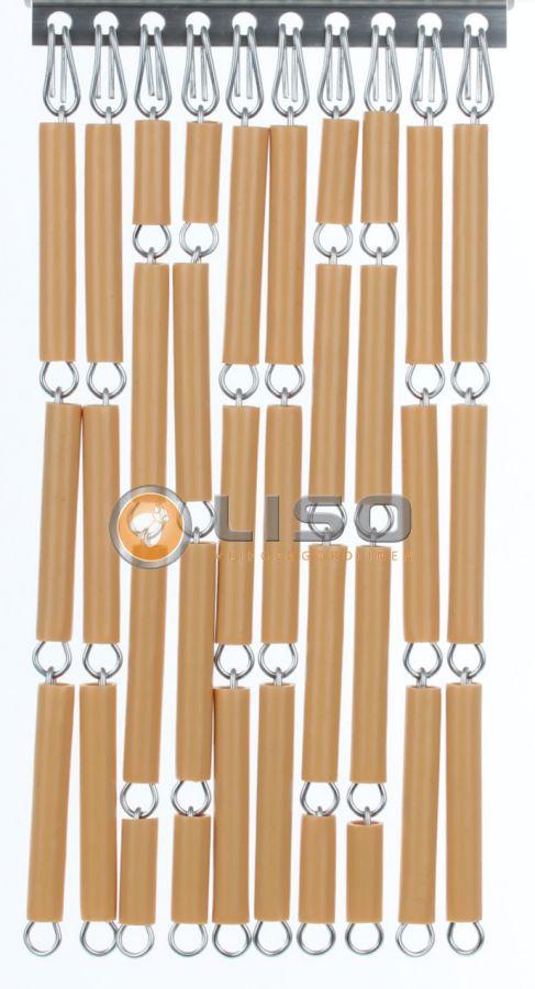 Liso ® Vliegengordijnen | Caramel