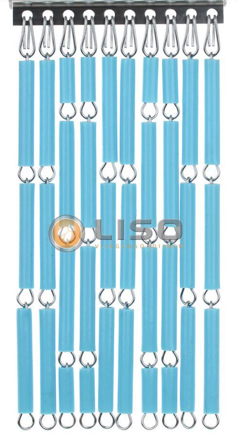 Liso ® Vliegengordijnen | Baby Blauw
