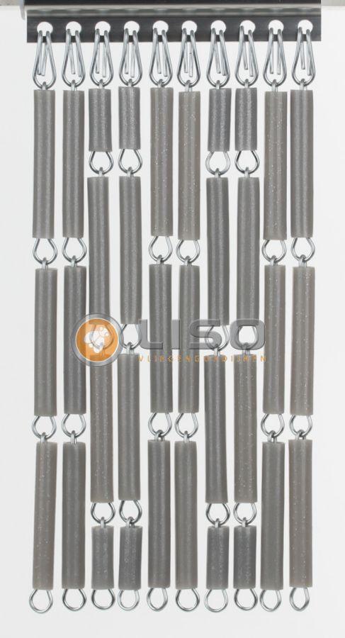 Liso ® Vliegengordijnen | Zilver Metalic