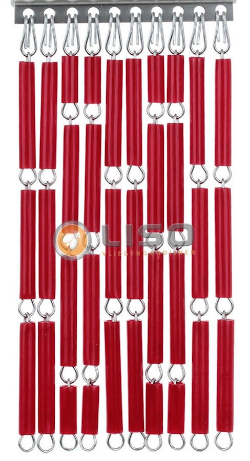 Liso ® Vliegengordijnen | Bloed Rood